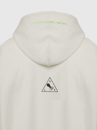 Diesel - S-ALBY-X2, Blanc - Pull Cotton - Image 4