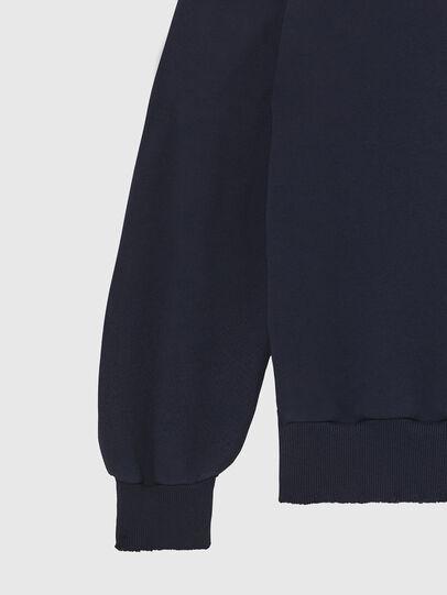Diesel - S-GIR-DIVISION-LOGO, Dark Blue - Sweatshirts - Image 4