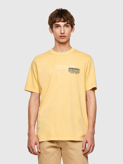 Diesel - T-JUBINDY-B1, Jaune - T-Shirts - Image 1