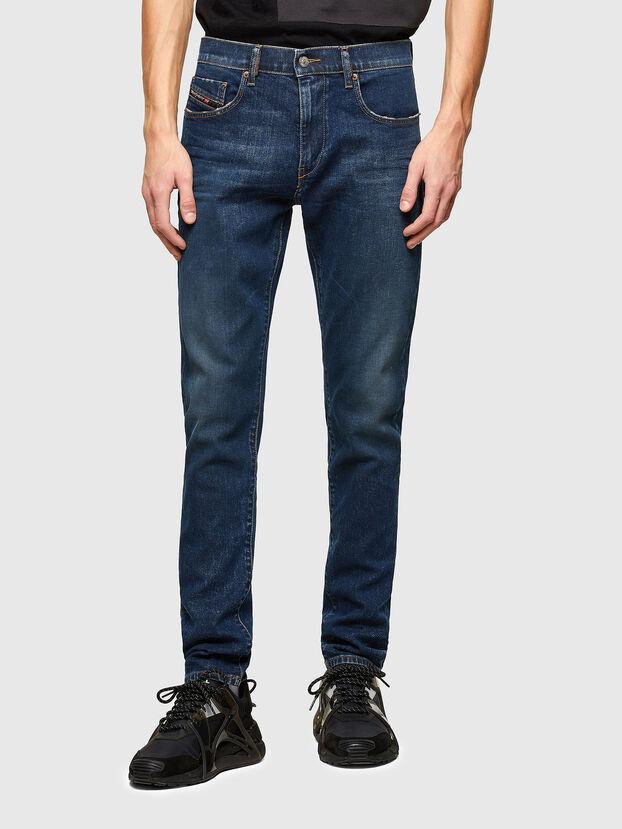 D-Strukt 009NV, Bleu Foncé - Jeans