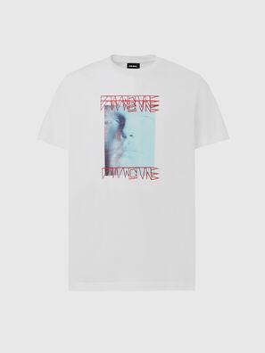 T-DIEGOS-X47, Blanc - T-Shirts