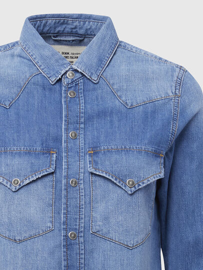 Diesel - DE-RINGY, Bleu Clair - Chemises en Denim - Image 3