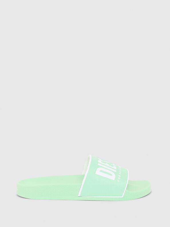 SA-VALLA W, Green Fluo - Slippers