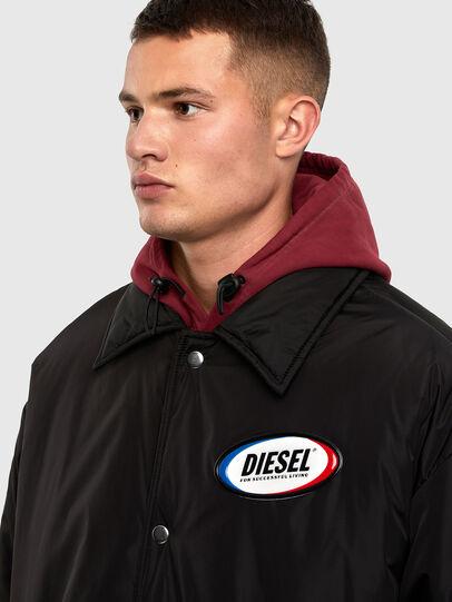 Diesel - W-KODYN, Noir - Vestes d'hiver - Image 3