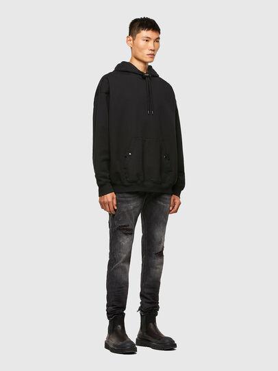 Diesel - Sleenker 009JN, Black/Dark Grey - Jeans - Image 6