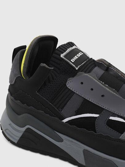 Diesel - S-BRENTHA DEC, Black/Grey - Sneakers - Image 5