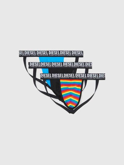 Diesel - UMBR-JOCKYTHREEPACK-, Multicolor/Black - Jockstraps - Image 1