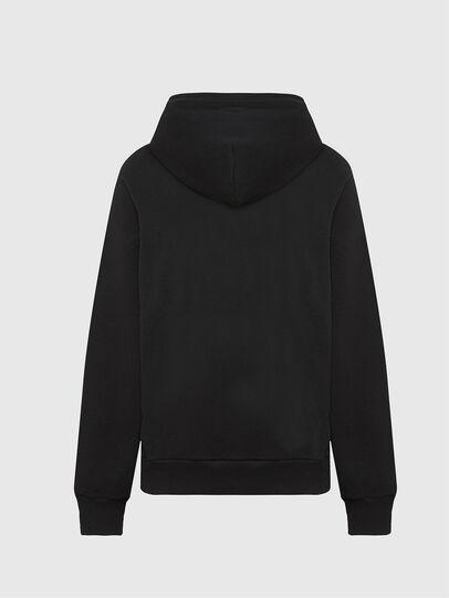 Diesel - S-GIRK-HOOD-MOHI, Black - Sweatshirts - Image 2