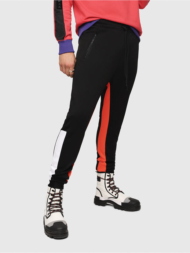 P-MITSUO, Multicolor/Black - Pants