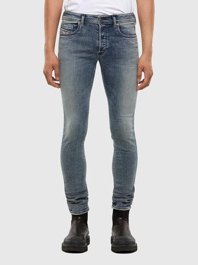 Diesel - Sleenker 009KL, Bleu moyen - Jeans - Image 1