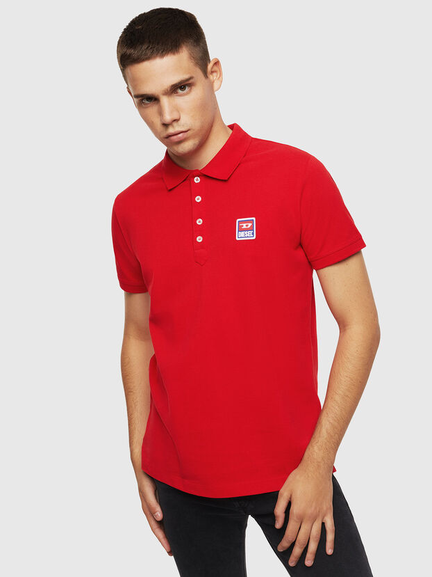 T-KAL-PATCH, Rouge - Polos