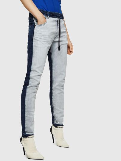 Diesel - Krailey JoggJeans 0870R, Bleu moyen - Jeans - Image 6