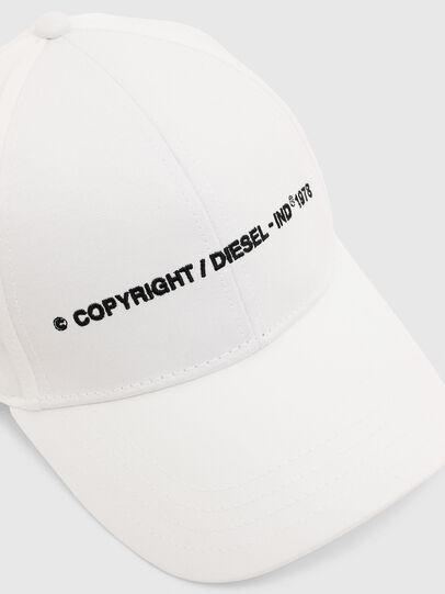 Diesel - COMIXI, Blanc - Chapeaux - Image 3
