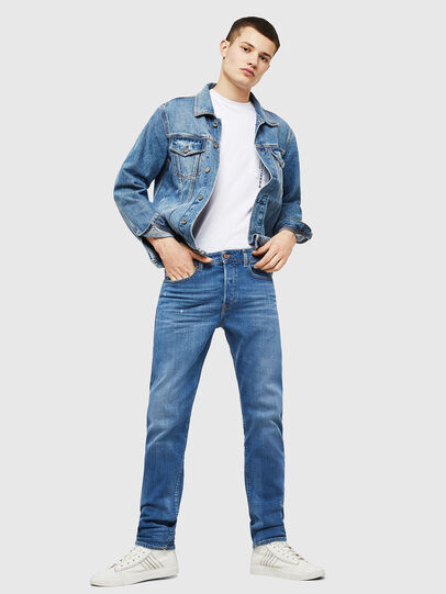 Diesel - Buster 083AX, Bleu Clair - Jeans - Image 6