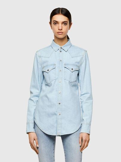 Diesel - DE-RINGY, Bleu Clair - Chemises en Denim - Image 1