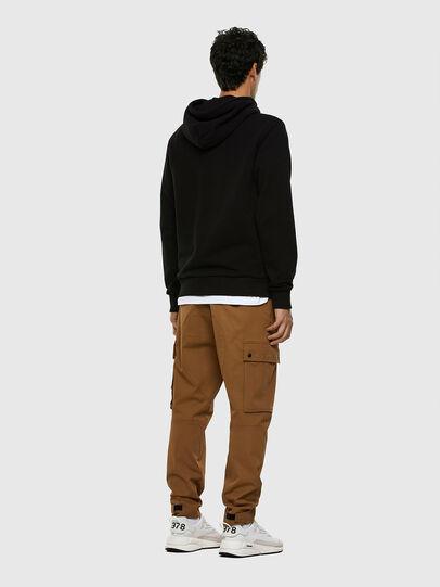 Diesel - S-GIRK-HOOD-MOHI, Black - Sweatshirts - Image 5
