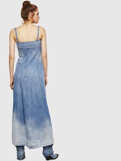 Diesel - DE-ARIN, Bleu Clair - Robes - Image 2