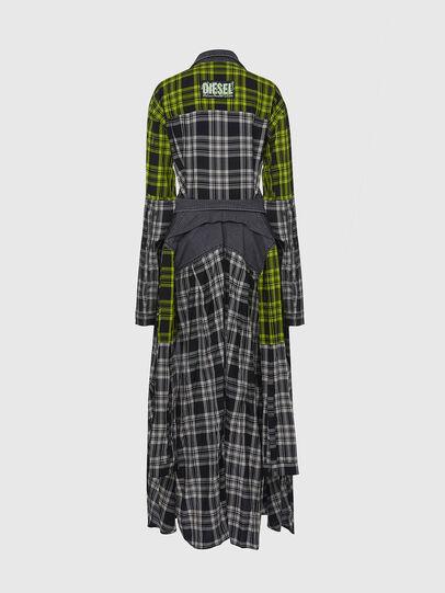 Diesel - D-NIAVY, Noir/Blanc - Robes - Image 2