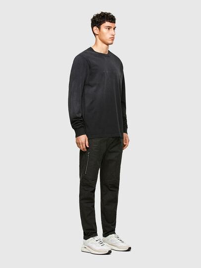 Diesel - T-JUBIND-LS, Noir - T-Shirts - Image 4