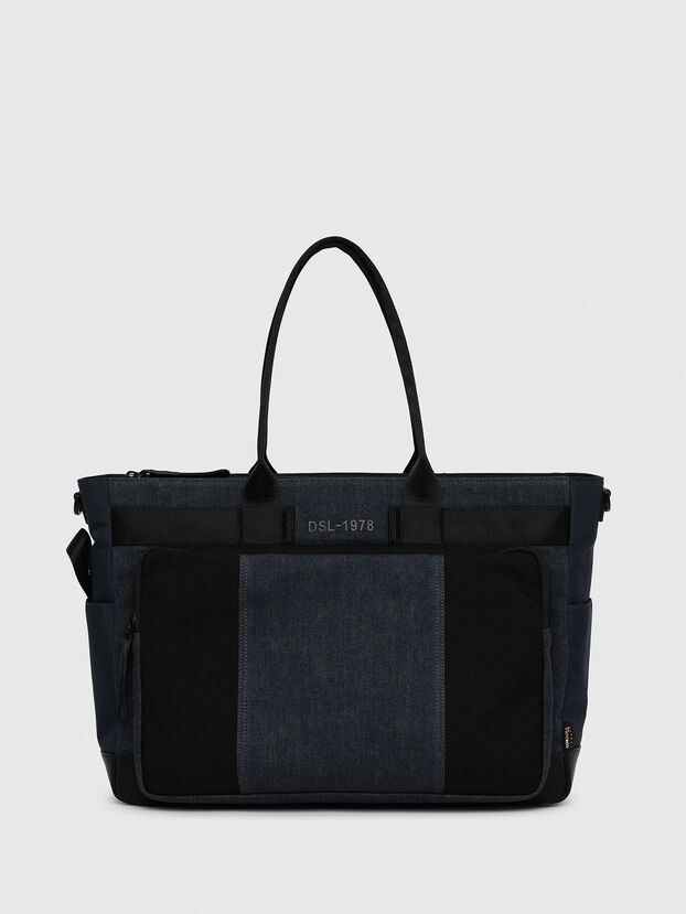BAGOTE, Dark Blue - Shopping and Shoulder Bags