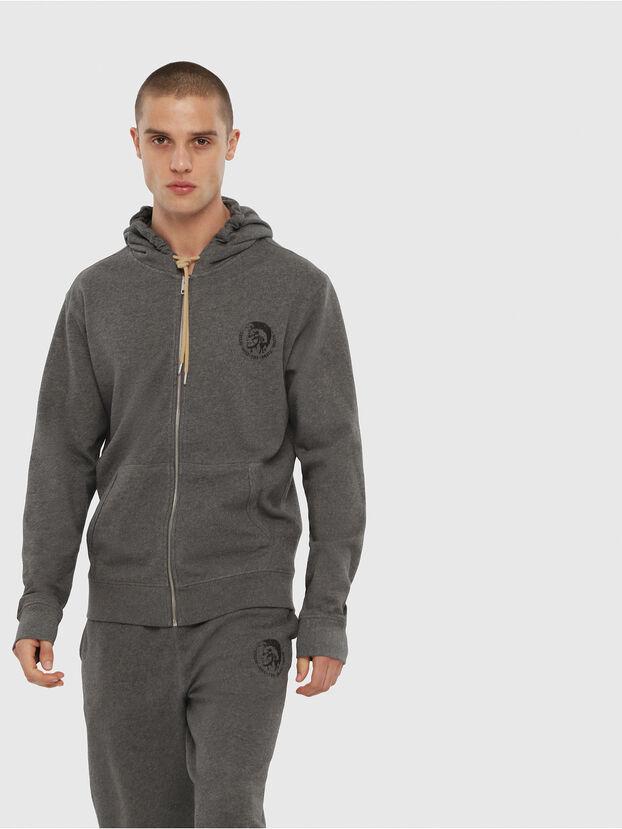 UMLT-BRANDON-Z, Grey Melange - Sweatshirts