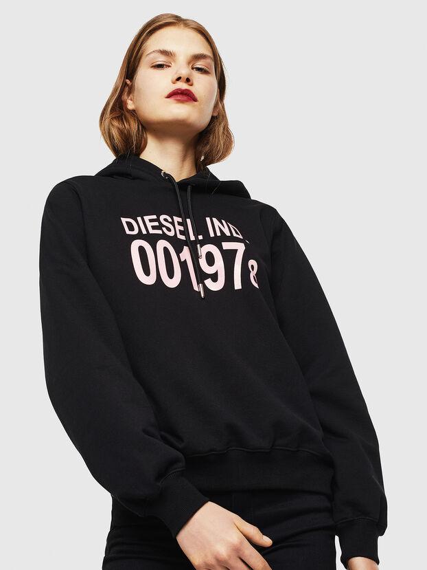 F-ANG-HOOD-J1, Black - Sweatshirts
