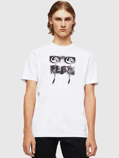 Diesel - TY-X1, Blanc - T-Shirts - Image 1