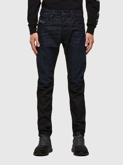 Diesel - D-Strukt 009MP, Bleu Foncé - Jeans - Image 1