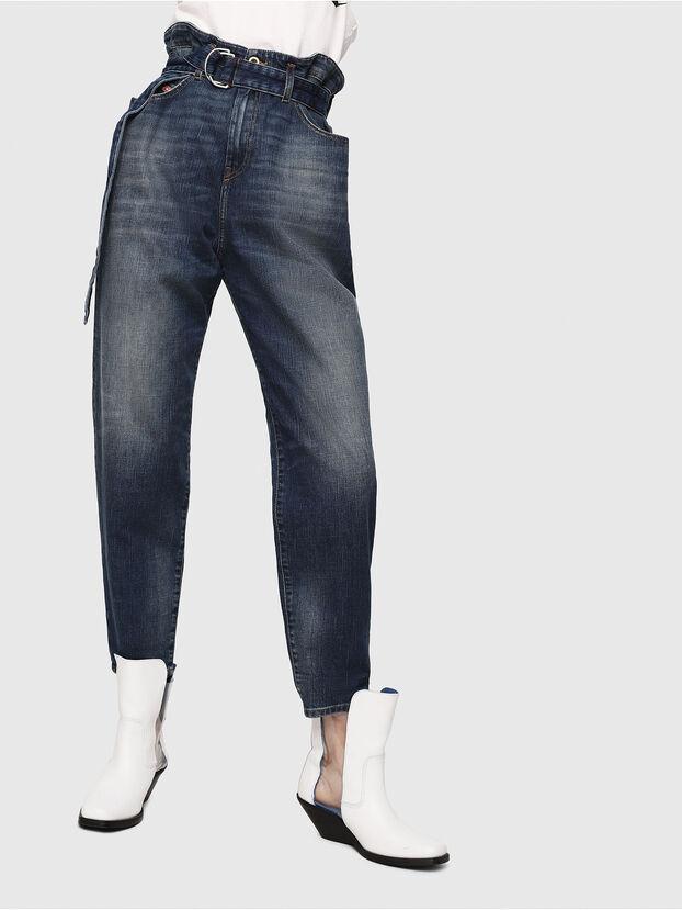 D-Vizons 089AR, Bleu Foncé - Jeans