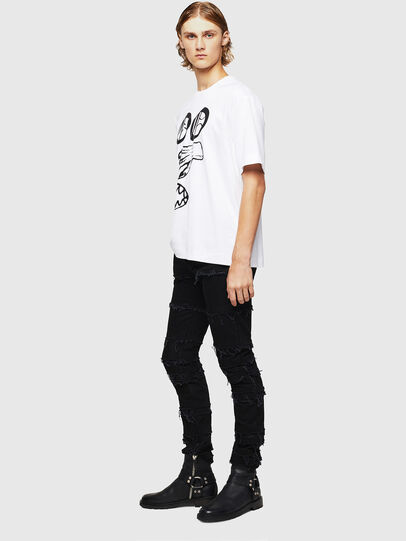 Diesel - TEORIALE-X2, Blanc - T-Shirts - Image 6