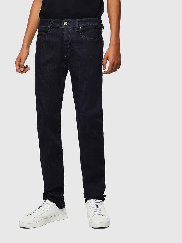 Buster 0607A, Bleu Foncé - Jeans