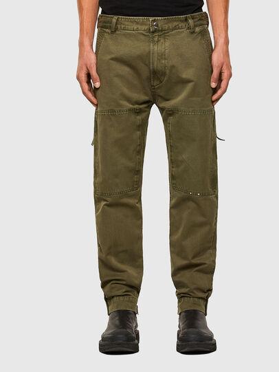 Diesel - P-KOLT, Vert Militaire - Pantalons - Image 1