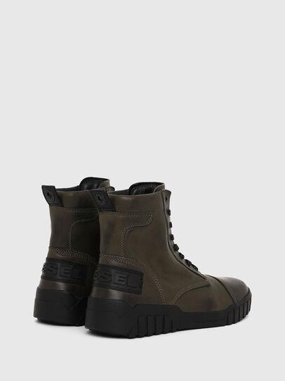 Diesel - H-RUA AM, Vert Militaire - Baskets - Image 3