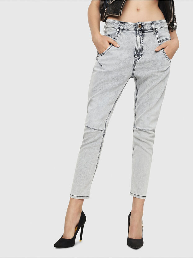 Fayza JoggJeans 069FE, Light Blue - Jeans