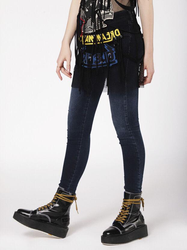 Slandy Low 084UT, Bleu Foncé - Jeans
