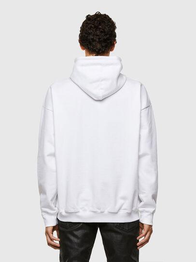 Diesel - S-UMMEREL-N1, White - Sweatshirts - Image 2