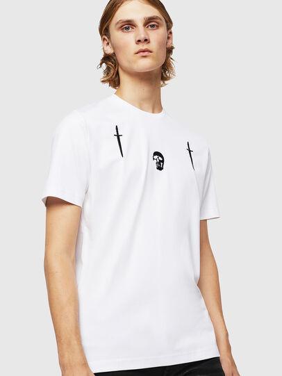 Diesel - TY-X2, Blanc - T-Shirts - Image 1