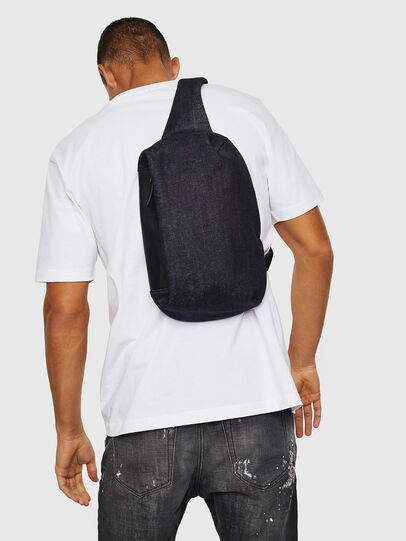 Diesel - D-SUBTORYAL MONO, Blue Jeans - Backpacks - Image 6