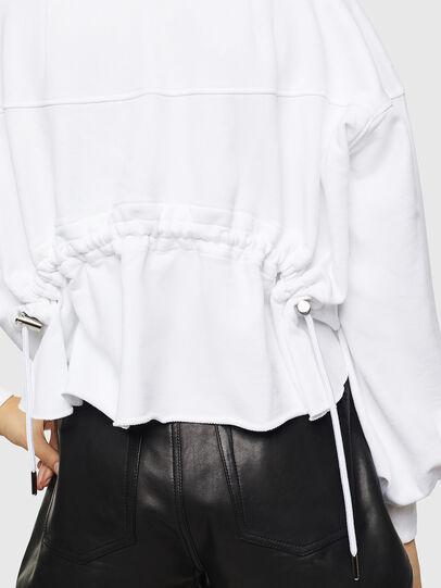 Diesel - F-MONDY, Blanc - Pull Cotton - Image 5