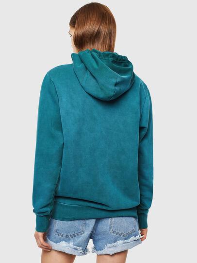 Diesel - S-GIRK-HOOD-SUN, Dark Green - Sweatshirts - Image 4