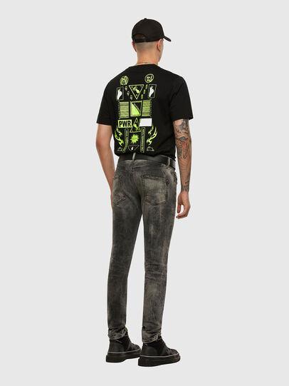Diesel - D-Strukt 009EV, Noir/Gris foncé - Jeans - Image 6