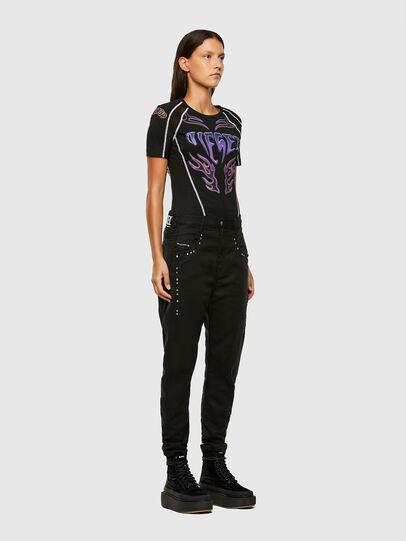 Diesel - FAYZA JoggJeans® 069NC, Noir/Gris foncé - Jeans - Image 6