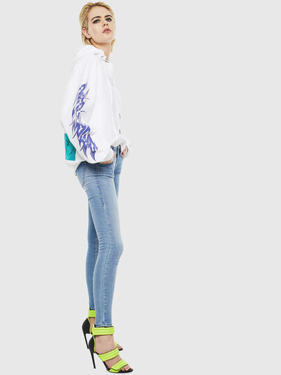 Diesel - Slandy Low 0096L, Bleu Clair - Jeans - Image 4