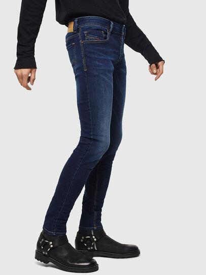 Diesel - Sleenker 084RI, Bleu Foncé - Jeans - Image 4