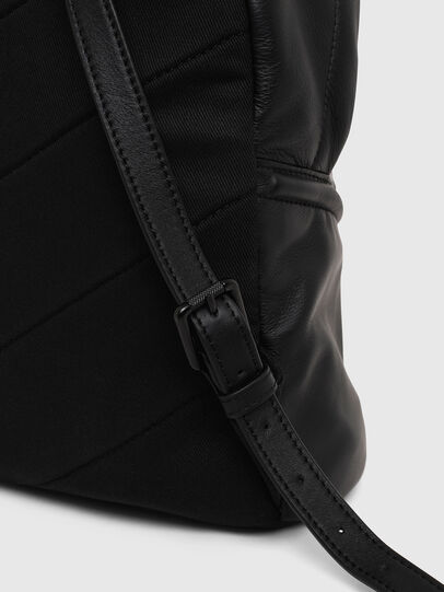 Diesel - LE-ZIPPER BACKPACK, Noir - Sacs à dos - Image 5
