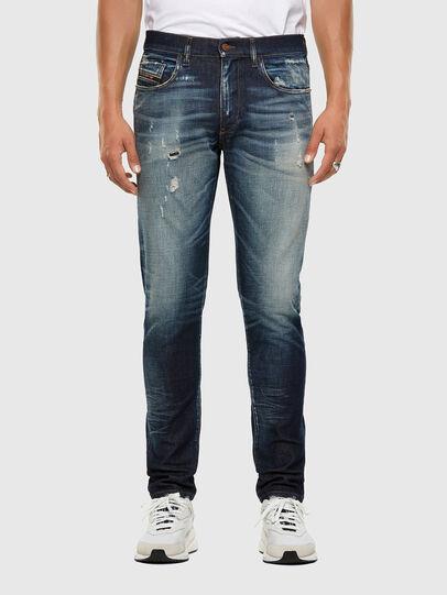 Diesel - D-Strukt 0092I, Bleu Foncé - Jeans - Image 1