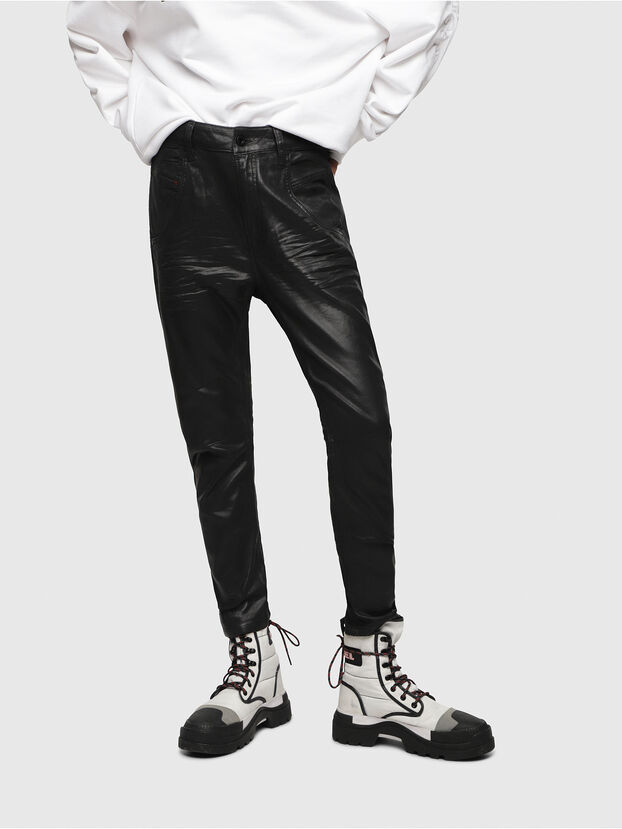 Fayza JoggJeans 069DU, Black/Dark Grey - Jeans