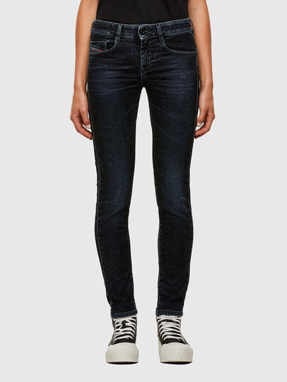 Diesel - D-Ollies JoggJeans® 069UH, Noir/Gris foncé - Jeans - Image 1