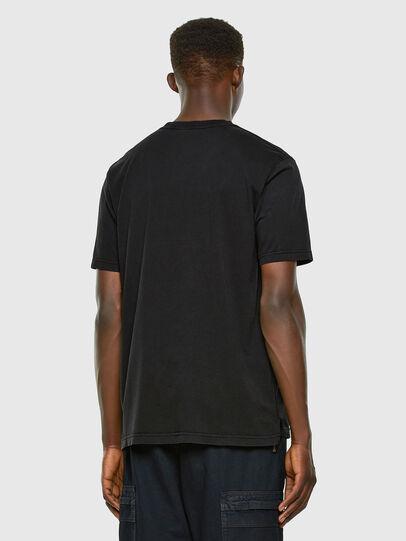 Diesel - T-JUBIND-SLITS, Noir - T-Shirts - Image 5