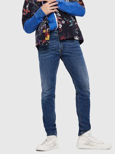Diesel - Sleenker 069AJ, Bleu moyen - Jeans - Image 4